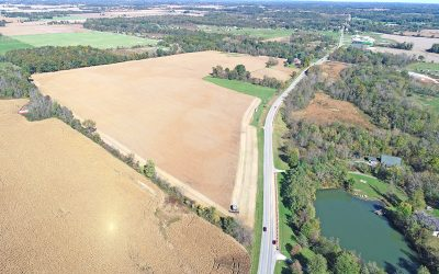 THURSDAY, NOV. 29, 109.3 ACRES VACANT LAND, MARION COUNTY, OH