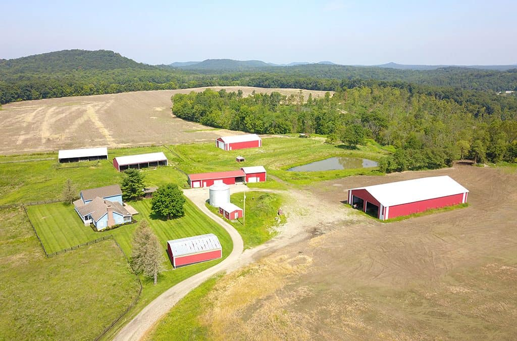 154 ACRES WITH IMPROVEMENTS – PIKE COUNTY