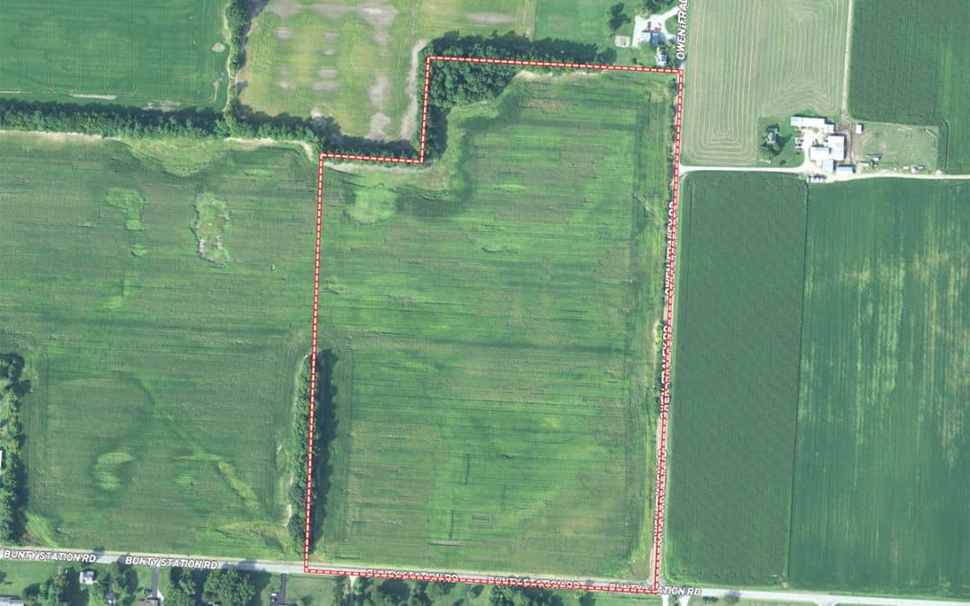 Auction Thursday, May 27, 6 pm – 43 Acres Delaware County, OH